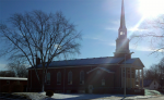 Outside the Church on a January day 2012